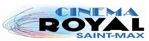 Cinéma ROYAL à Saint-Max